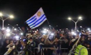 Belle ambiance à Montevideo.