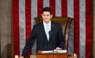 Le républicain Paul Ryan a été élu président de la Chambre des représentants, le 29 octobre 2015.