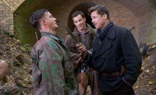 "Brad Pitt dans le dernier film de Quentin Tarantino, ""Inglorious Basterds"""