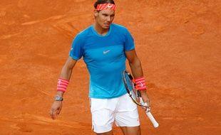 Rafael Nadal était double tenant du titre à Madrid avant sa défaite face à Murray.