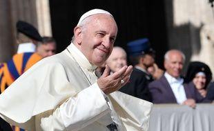 Le pape François le 12 octobre au Vatican. (image d'illustration)