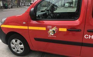 Les services de secours du Bas-Rhin (Sdis 67) à Strasbourg.