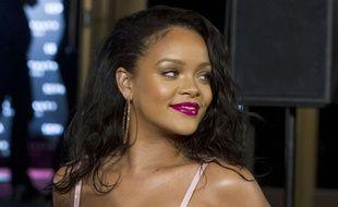 Rihanna à Madrid le 23 septembre 2017.