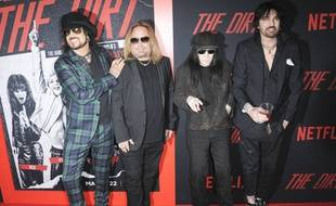 Le groupe de hard rock Mötley Crüe