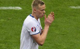 Kolbeinn Sigthorsson sous le maillot islandais.