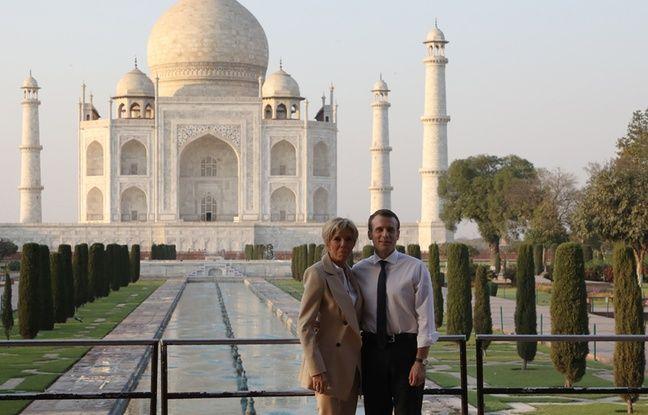 nouvel ordre mondial | Inde: Escapade romantique pour le couple Macron au Taj Mahal
