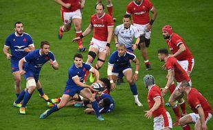 Les téléspectateurs se sont rués devant le match France/Pays de Galles.