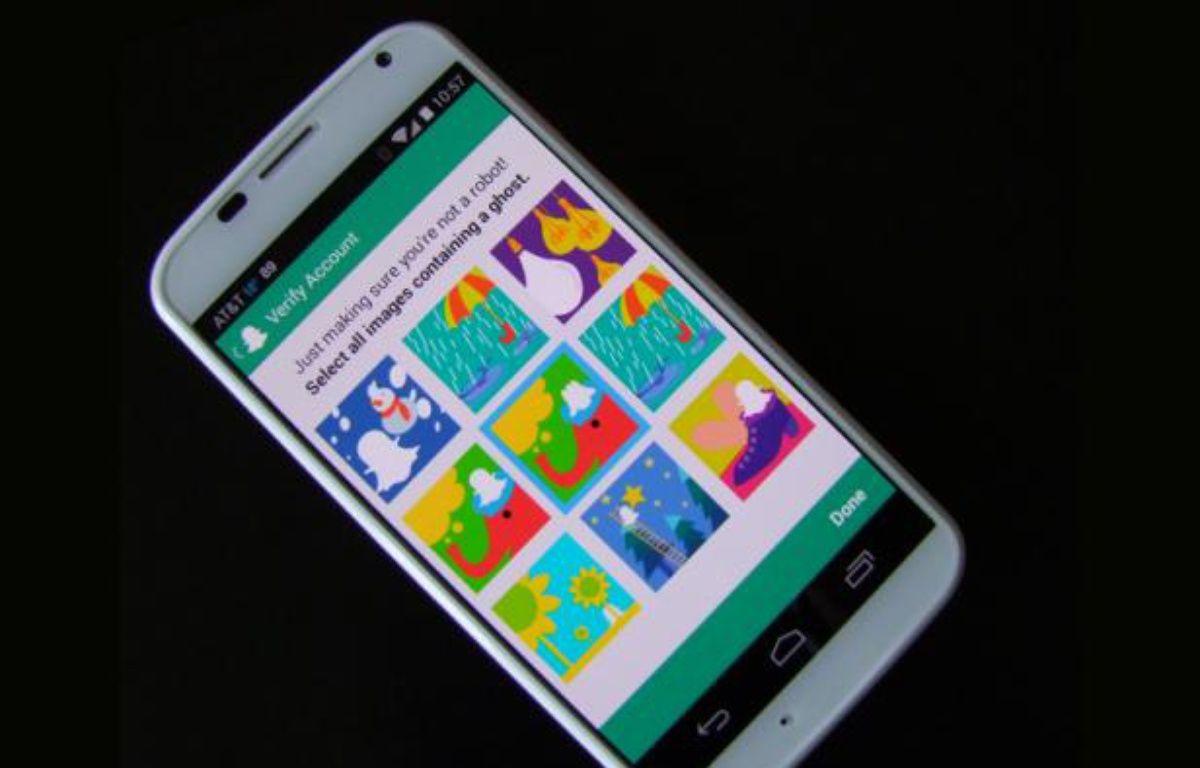 Le système de Snapchat pour vérifier qu'un utilisateur est humain s'appuie sur la reconnaissance d'images. – 20 MINUTES