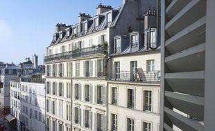 Des immeubles dans le IIIe arrondissement de Paris. (Illustration)