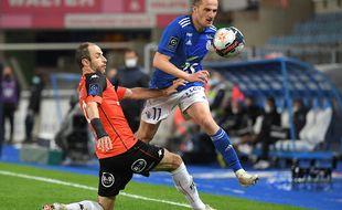 Dimitri Liénard était titulaire contre Lorient.