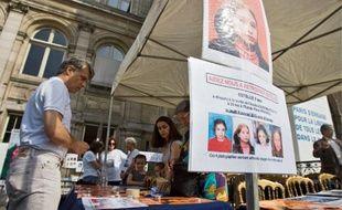 Hier, à l'Hôtel de Ville, le comité de soutien aux proches d'Estelle a lancé un nouvel appel.
