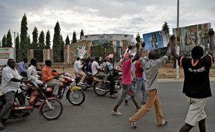 Manifestation de l'opposition burundaise le 24 mai 2015 à Bujumbura