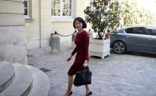 La secrétaire d'État au Commerce extérieur Fleur Pellerin, à Paris le 10 avril 2014