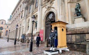 Stockholm, en Suède, le 12 mars 2020.