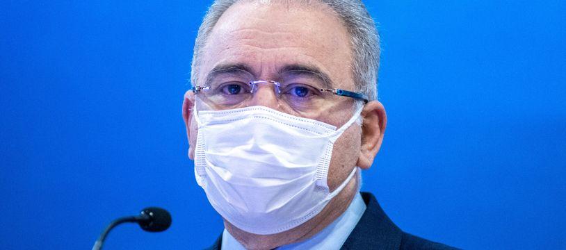 Le ministre de la Santé brésilien, Marcelo Queiroga.