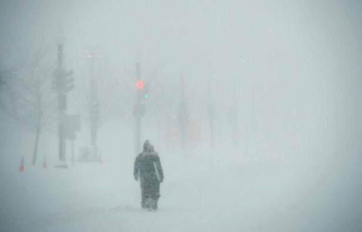 L'avenue Pennsylvania à Washington, le 23 janvier 2016 – MANDEL NGAN AFP
