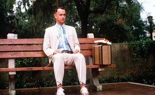 Tom Hanks dans le rôle de Forrest Gump, en 1994