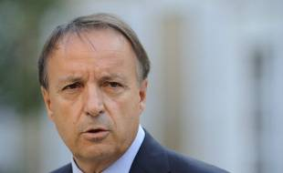 Jean Pierre Bel, président PS du Sénat.