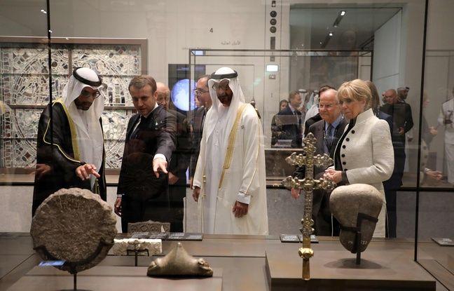 nouvel ordre mondial | Inauguration et diplomatie: Le Louvre Abou Dabi, un musée «contre l'obcurantisme» pour Macron
