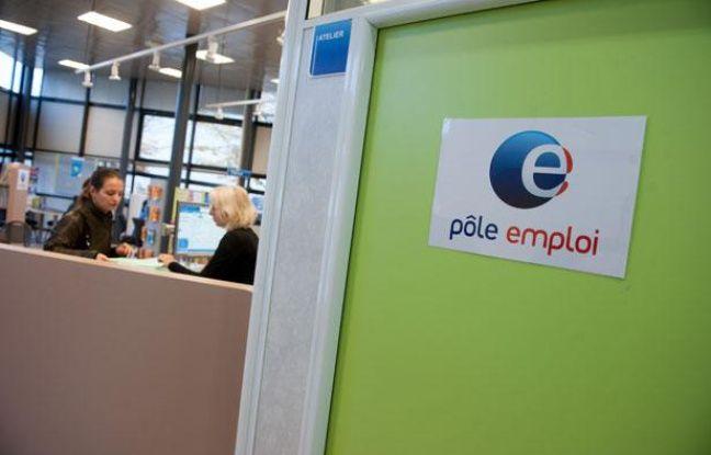 Un bureau du Pôle emploi à Bordeaux.