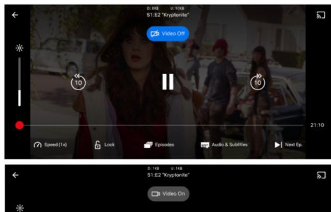 Netflix teste la lecture uniquement audio de son contenu