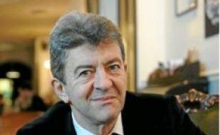 Le candidat Jean-Luc Mélenchon.