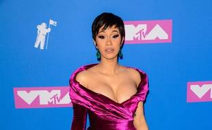 La rappeuse Cardi B aux MTV Video Music Awards 2018