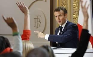 Le président Macron a tenu jeudi soir la première conférence de presse de son quinquennat.