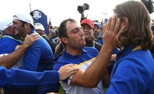 Francesco Molinari a été le grand artisan de la victoire de l'Europe sur le Golf National.