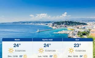 Météo Nice: Prévisions du samedi 12 juin 2021