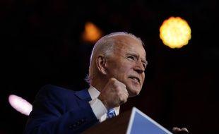 Joe Biden le 25 novembre à Wilmington, dans le Delaware.