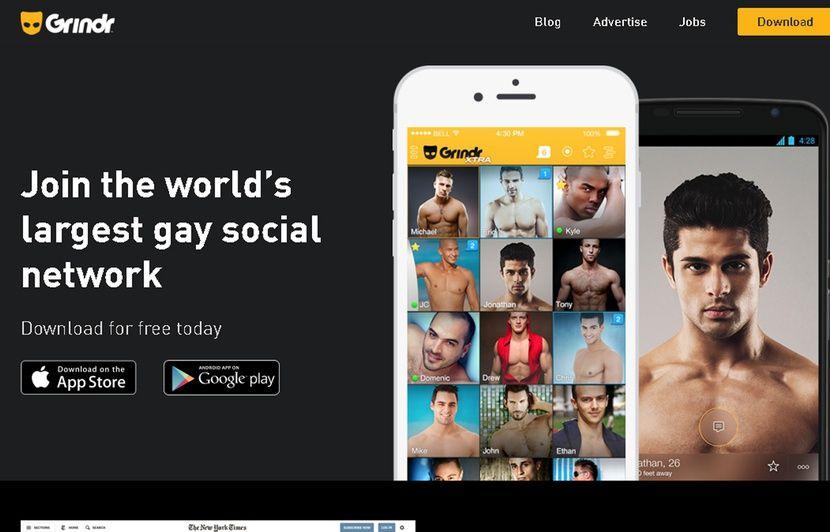 Un tour sur Grindr, Scruff ou Hornet montre une communauté LGBT très blanche.