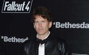 Todd Howard, créateur de jeux vidéo chez Bethesda, le 5 novembre 2015, à Los Angeles.