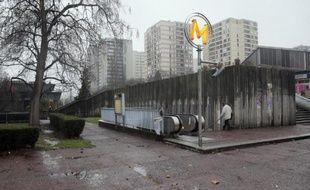 Photo prise à Bobigny (Seine-Saint-Denis), le 3 décembre 2012