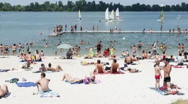 bordeaux la plage du lac obtient le label pavillon bleu. Black Bedroom Furniture Sets. Home Design Ideas