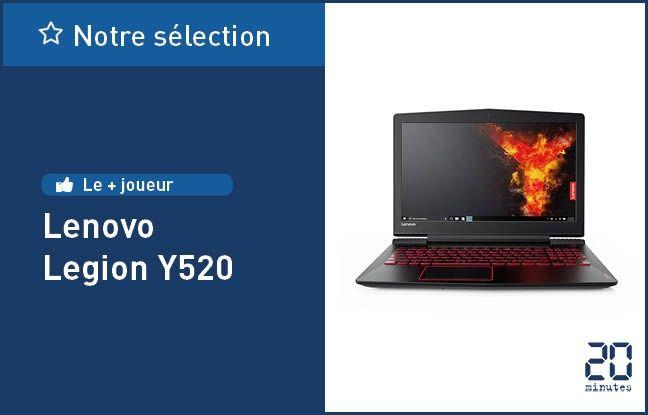 Le Legion Y520, de Lenovo