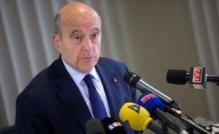 Alain Juppé, l'un des trois cadres à avoir pris la direction collégiale de l'UMP, le 27 mai 2014.