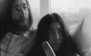 John Lennon et Yoko Ono