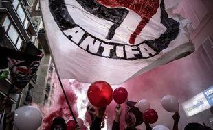 Une procession catholique a été prises à partie samedi, notamment par des militants antifas (image d'illustration)