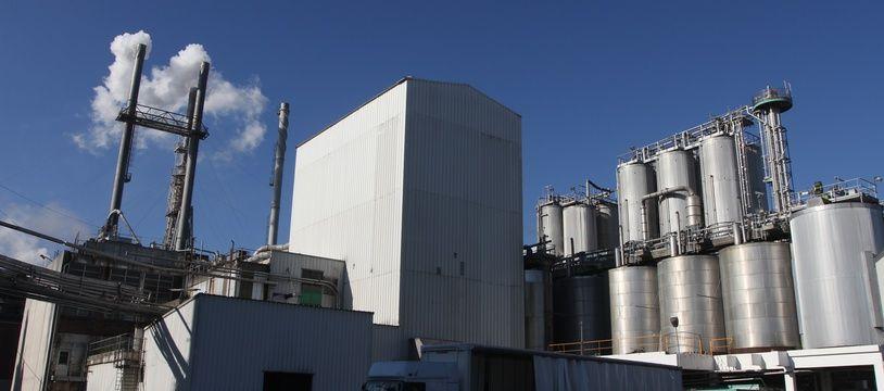 L'usine d'Haubourdin de Cargill, géant américain de production d'amidons et de leurs produits dérivés. (Archives)