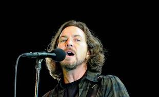 Le leader du groupe Pearl Jam, Eddie Vedder
