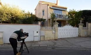 C'est dans cette maison que le corps d'Evelyne K., 77 ans, a été retrouvé mercredi soir