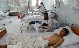 L'hôpital de Médecins sans Frontières à Kunduz, au nord de l'Afghanistan, le 21 mai 2015.