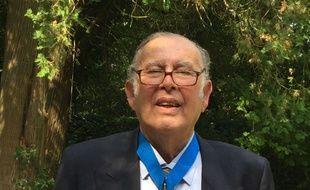 Michel Barda, le doyen des candidats au bac en 2019.