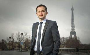Pierre-Yves Bournazel, vice président délégué au Conseil de Paris pour l'UMP et Conseiller Régional, le 15 janvier 2013.