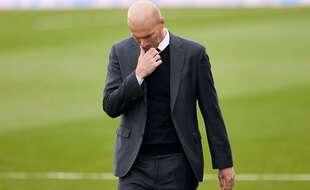 Zinédine Zidane est sur le départ du Real Madrid, annonce la presse espagnole