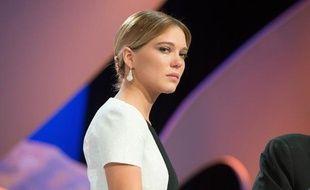 Léa Seydoux lors de la cérémonie de clôture du Festival de Cannes 2013.