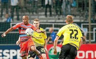 André Ayew et l'OM avaient déjà joué Dortmund lors de la saison 2011-2012.