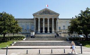 Le tribunal d'Angers.