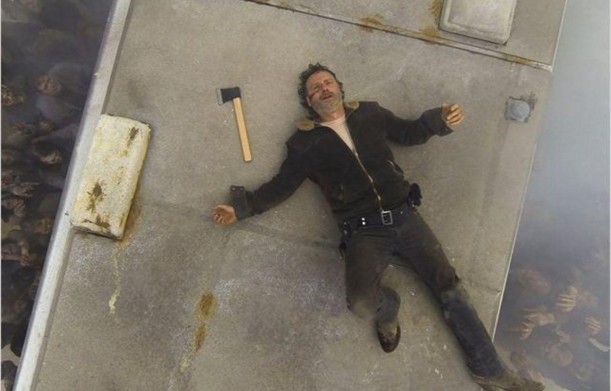 """Rick est au bout du rouleau car il sait que la saison 7 de """"The Walking Dead"""" est un peu chiante – The Walking Dead/AMC"""